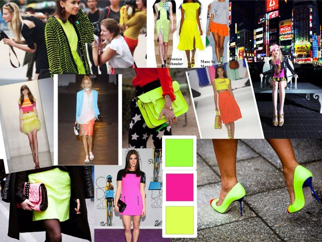 FASHION MADNESS: BRIGHTEN ^ UP ^ WITH A POP OF NEON!!