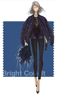 bright cobalt