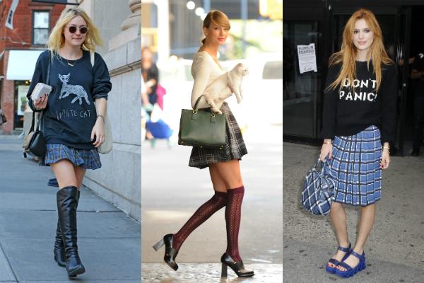 plaid-skirts