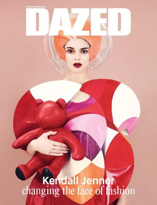 "Kendall Jenner Goes Retro for ""DAZED Magazine"" Photo Spread!"