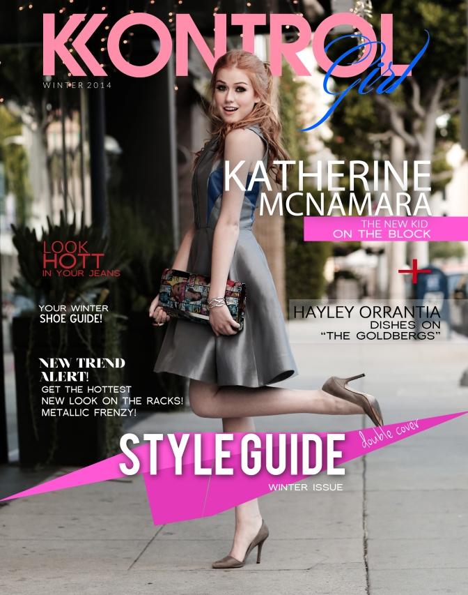 Katherine McNamara Covers Kontrol Girl