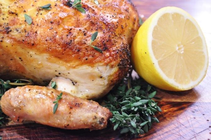 Lemon Pepper Chicken Salad…HOLD THE SALT PLEASE!!