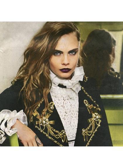 best-instagrams-cara-delevingne-gothic-look
