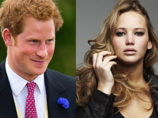 Prince Harry And Jennifer Lawrence Prince harry jennifer lawrence - prince-harry-jennifer-lawrence