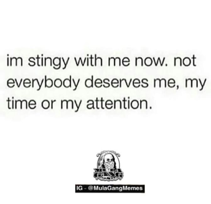 Stingy With Me
