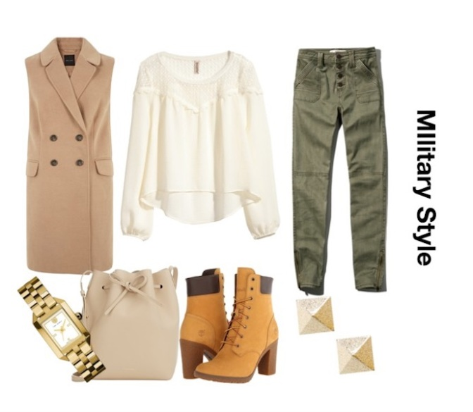 Attention! Military Style for Fall