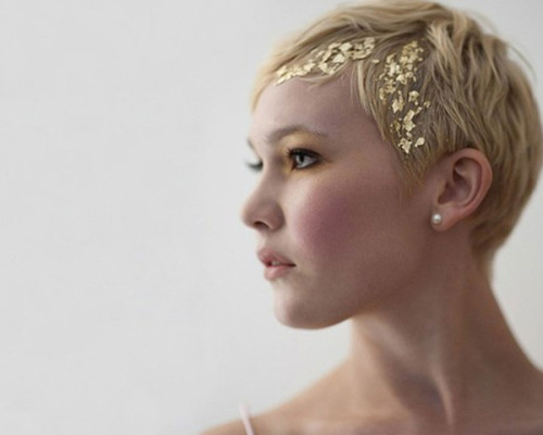 New Hair Trend: The Gold Leaf