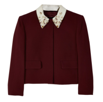 Sequined Collar Jacket, Miu Miu $737