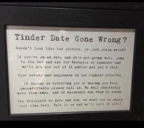 Tinder date gone wrong?