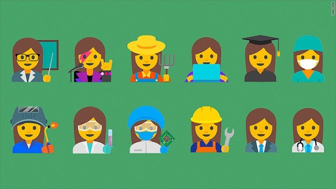 New Emojis Could Empower Girls
