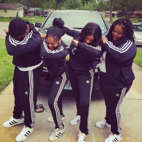 Niecy Nash Kids Dab