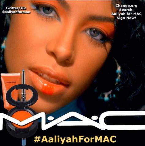 #AaliyahforMAC