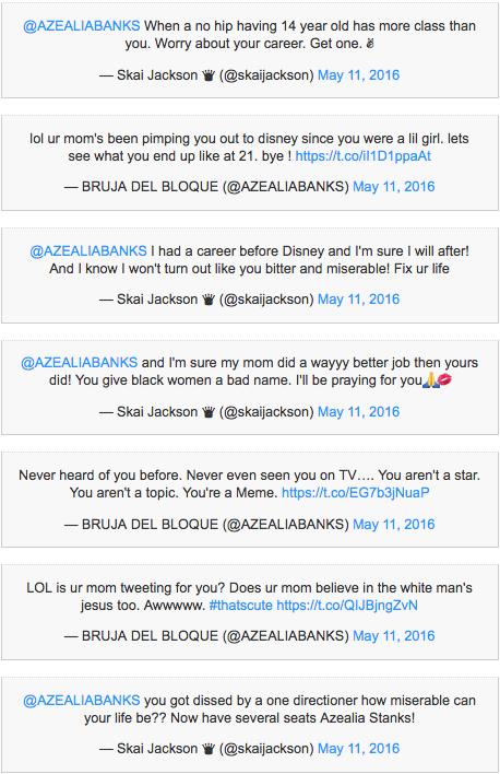 Azalea Banks Twitter