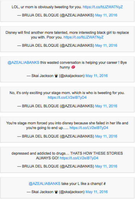Azealia Banks Twitter feud