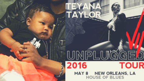 Teyana Taylor Mother's Day
