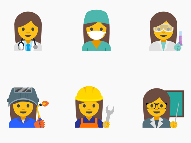 Google Offering New Emoji To Better Represent Women and Young Girls