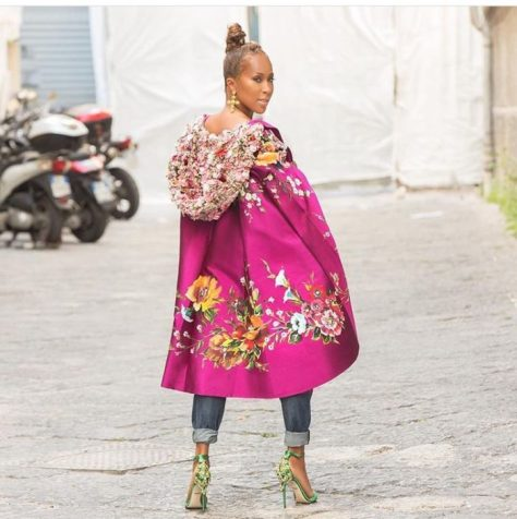 Marjorie-Harvey-Dolce-Gabbana-Cloak-4-700x704